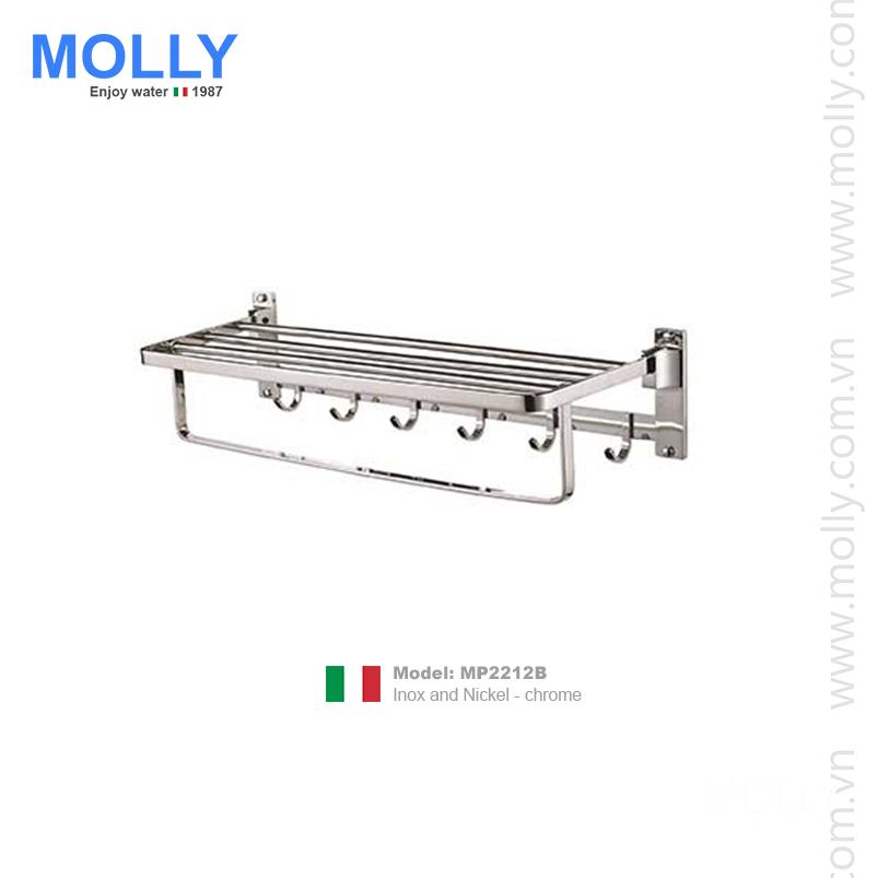 Vắt khăn giàn 2 tầng Molly MP2212B