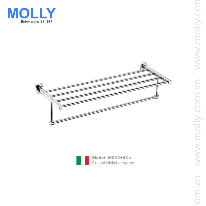 Vắt khăn giàn Molly MP2218Cu