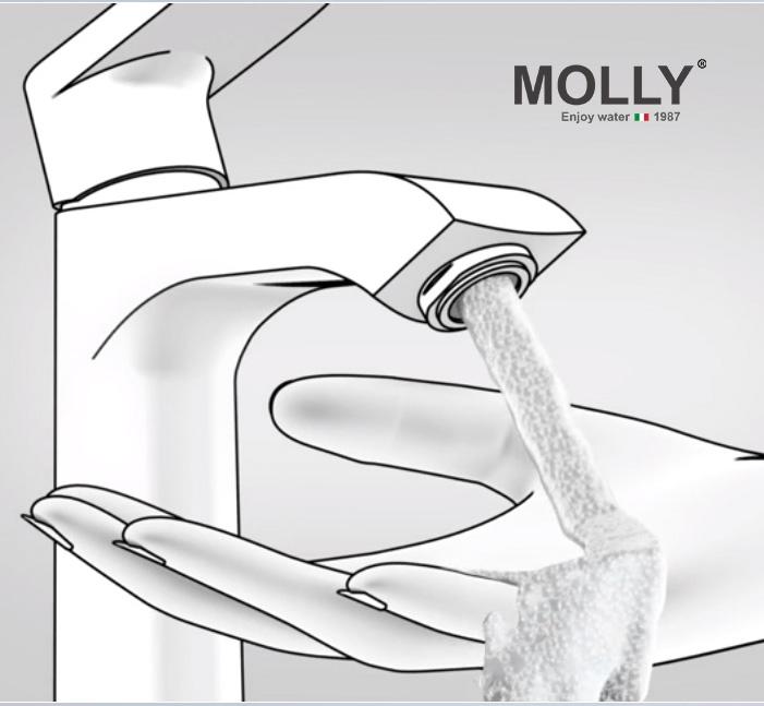 Vòi lavabo nhập khẩu MOLLY MYP983186T