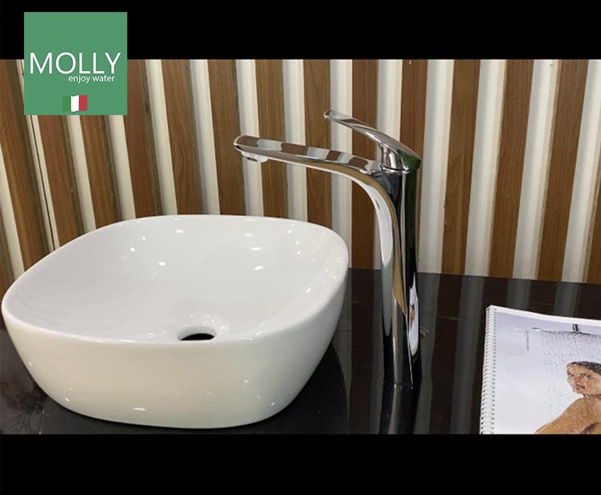 Vòi lavabo nóng lạnh nhập khẩu Molly MYP983188T